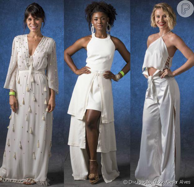 Carla Salle, Erika Januza e Barbara França exibiram produções caprichadas na gravação do especial do fim de ano da Globo