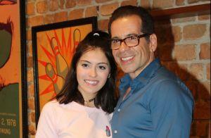 Hassum lembra reação da filha por ouvir que pai era 'gordão': 'Cuspia comida'