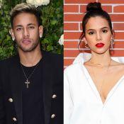 Neymar dá like em foto Bruna Marquezine e fãs apontam: 'Esse amor é real'