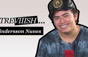 Whindersson Nunes improvisa voto de casamento para noiva em desafio. Veja vídeo!