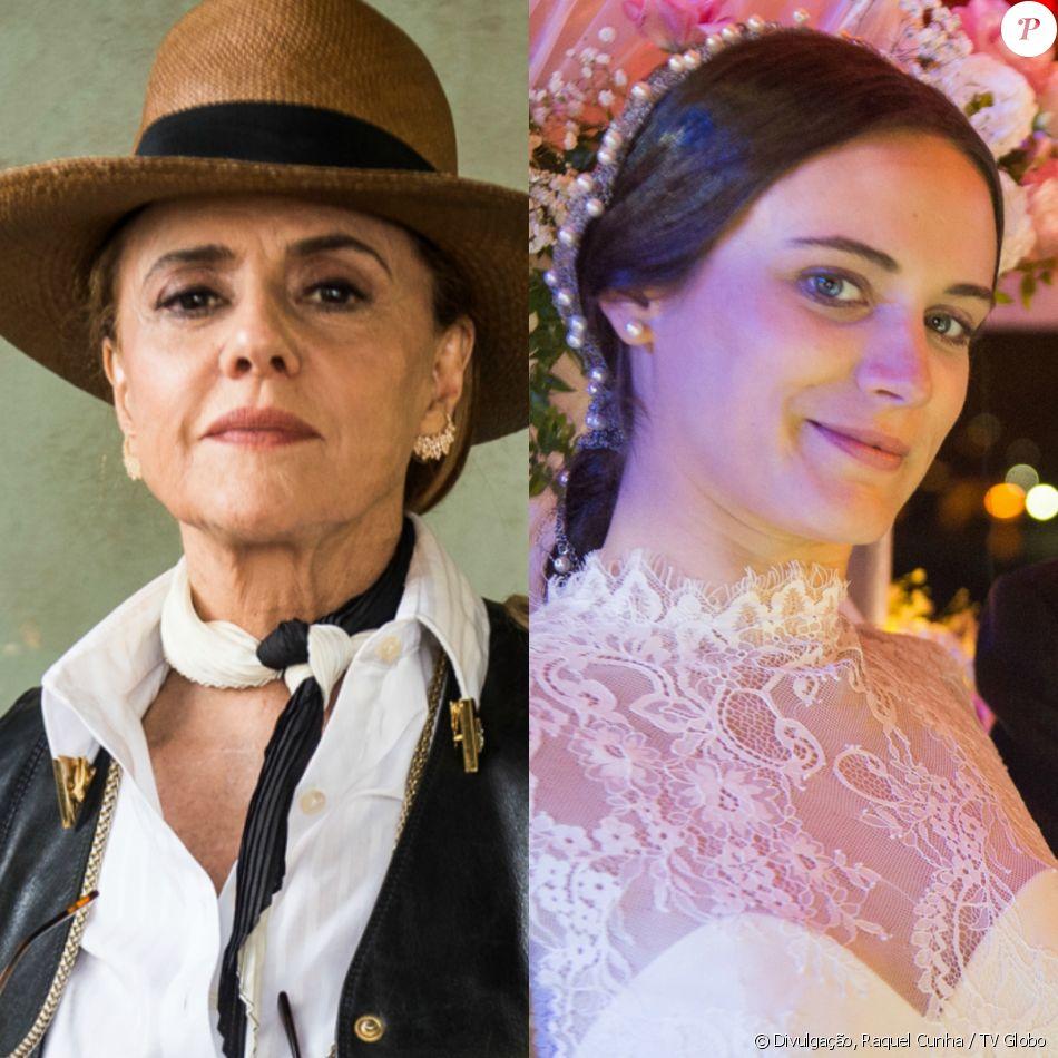 Sophia (Marieta Severo) é dopada por Clara (Bianca Bin) depois de tentar fazer Irene (Luciana Fernandes) entregar suco com remédio à ex-nora, na novela 'O Outro Lado do Paraíso'