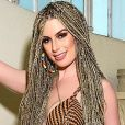 ' É dividido o cabelo em quadradinho, daí o nome box braids', explica  Fernanda Keulla