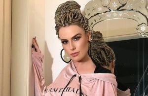 Fernanda Keulla adota tendência box braids e explica look: 'Inspira liberdade'