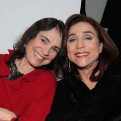 Regina Duarte e Marisa Orth prestigiam festa do estilista Fernando Pires, em SP