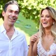 Ticiane Pinheiro e Cesar Tralli trocaram declações antes do casamento