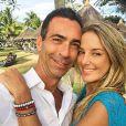 Ticiane Pinheiro e Cesar Tralli se casaram em cerimônia avaliada em R$ 250 mil