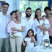 Antonia Fontenelle e Jonathan Costa batizam filho, Salvatore: 'Anjo'. Fotos!