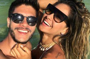 Mayra Cardi conta por que vai se casar em Noronha: 'Arthur Aguiar não abre mão'