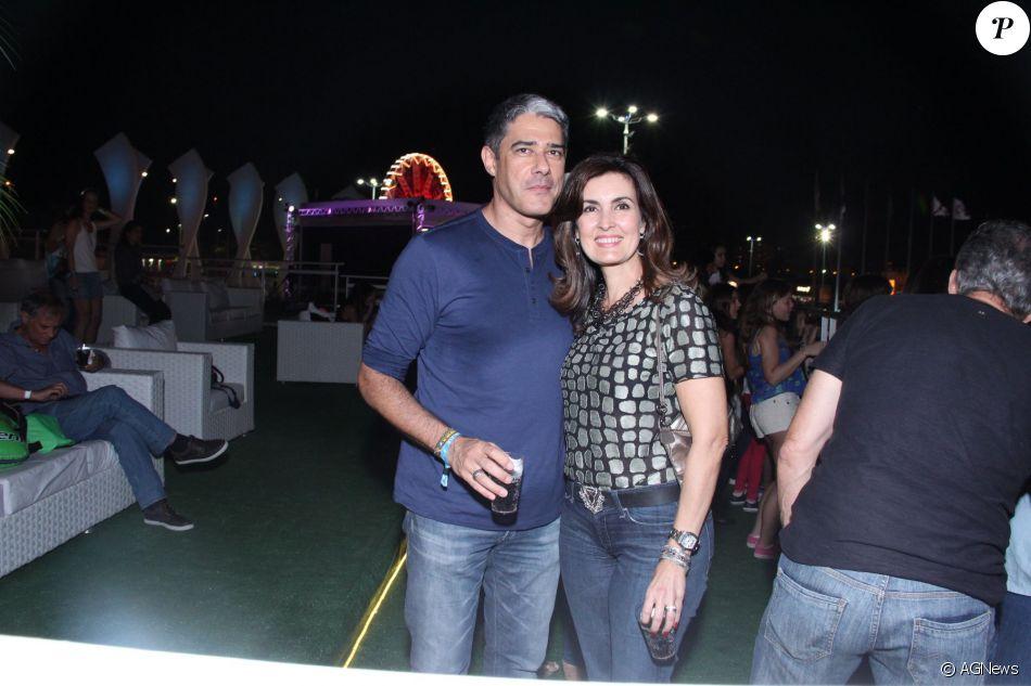 Bonner curte foto de Fátima Bernardes com namorado