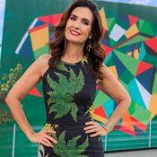 Fátima Bernardes solta voz no 'Encontro' e fãs aprovam: 'Amor está fazendo bem'