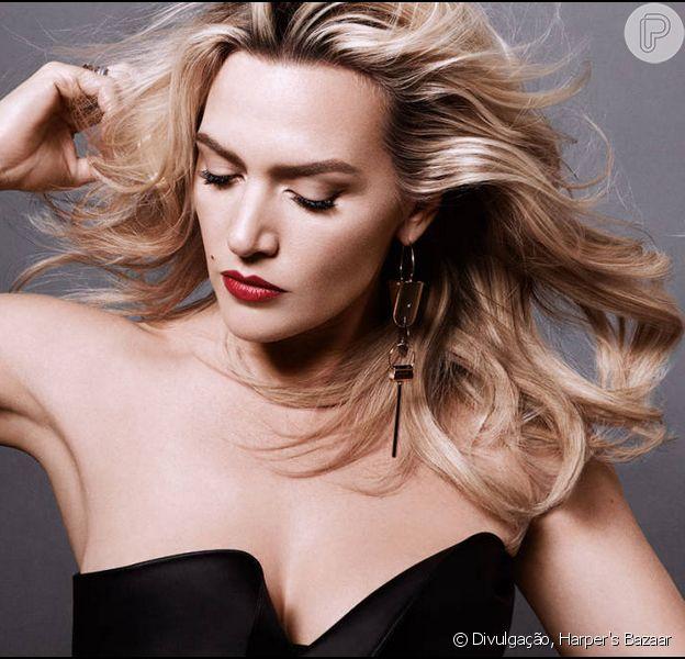 Kate Winslet faz ensaio sensual e fala do retorno ao cinema após dar à luz 20 de maio de 2014