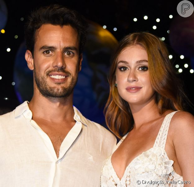 Xande Negrão, marido de Marina Ruy Barbosa, evita ver as cenas quentes de Marina Ruy Barbosa na TV: 'Só selinho está bom'