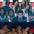 Ainda antes do Réveillon, Neymar e Bruna Marquezine partiram para Angra dos Reis em uma viagem com amigos