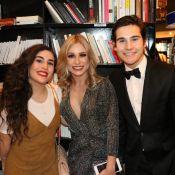 Nicolas Prattes reencontra a ex Lívian Aragão em evento: 'Minha segunda família'