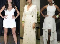 Inspire-se para o Réveillon com 50 looks brancos e off-white das famosas. Fotos!