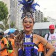'O Henrique Filho está fazendo a minha fantasia e a inspiração é o troféu abacaxi', explicou Juliana Paes