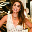 'A minha preparação está sendo escutar o samba enredo porque está difícil', disse Juliana Paes