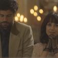 Na novela 'Tempo de Amar', Inácio (Bruno Cabrerizo) e Lucinda (Andreia Horta) se casaram em pequena cerimônia