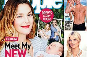 Drew Barrymore mostra o rosto da filha Frankie pela primeira vez