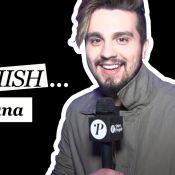 Luan Santana fala sobre ciúme e beijos em clipes: 'Estou sem vergonha'. Vídeo!