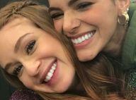 Marina Ruy Barbosa e Marquezine se abraçam após briga de fãs na web: 'Só amor'