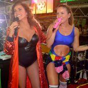 Claudia Leitte exibe barriga sarada e canta em trio com Daniela Mercury:'Rainha'