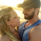 Ellen Rocche abraça namorado e faz declaração de amor: 'Encontrei o meu lugar'