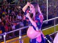 Grávida, Ivete Sangalo faz show com médicas no camarim: 'Acho que vieram curtir'