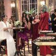 Pabllo Vittar e Anitta nos bastidores do 'Melhores do Ano'