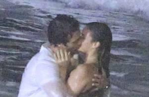 Bruna Marquezine grava cena de beijo de 'Em Família' com Gabriel Braga Nunes