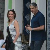 Namorada de William Bonner brinca com foto do jornalista: 'Amor, solta o prêmio'