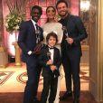 Juliana Paes homenageou os amigos de 'A Força do Querer' que ganharam prêmios no Melhores do Ano, do 'Domingão do Faustão': 'Obrigada! Emílio Dantas, Jonathan Azevedo e João Bravo, amo vocês! Parabéns!'
