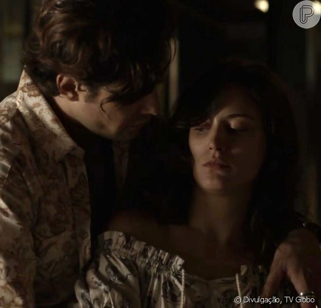 Gael (Sergio Guizé) tenta estuprar Clara (Bianca Bin) e é preso por Bruno (Caio Paduan), no capítulo que vai ao ar terça-feira, dia 19 de dezembro de 2017, na novela 'O Outro Lado do Paraíso'