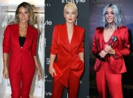 Trend alert: conjunto vermelho de alfaiataria conquista looks de famosos. Fotos!