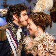 Leopoldina e Dom Pedro conquistaram o público na novela 'Novo Mundo'