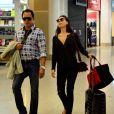 Isis Valverde foi vista no aeroporto Santos Dumont, no Rio de Janeiro, nesta quinta-feira, 22 de maio de 2014