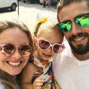 Mariana Bridi, mulher de Rafael Cardoso, avalia 2ª gravidez: 'Mais cansativa'