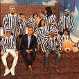 Anitta, Ludmilla, Luan Santana, Simaria e mais cantores vestiram pijamas listrados para a gravação do 'Caldeirão de Ouro'