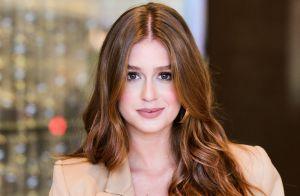 Marina Ruy Barbosa dispensa secador nos cabelo no dia a dia: 'Seca naturalmente'