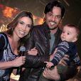 Casada com Fábio Faria, Patricia Abravanel contou se esforçar para acompanhar a energia de Pedro, de 3 anos