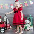 Aurora, de 3 anos, é filha dos atores Rafael Cardoso e Mariana Bridi