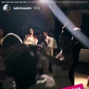 Sabrina Sato dança funk e beija namorado em festa de fim de ano. Vídeo e fotos!