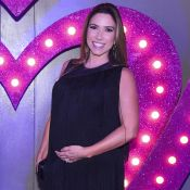 Patricia Abravanel decide escolher nome da filha após parto: 'Convenci o marido'