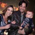 Patricia Abravanel é casada com o deputado federal Fabio Faria e mãe do pequeno Pedro
