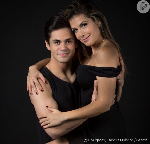 Nathália Melo garantiu que não teve medo de expor o namoro com Lucas Veloso