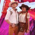 Nathália Melo acredita que o namoro não atrapalhou o desempenho com Lucas Veloso no 'Dança dos Famosos'