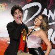 Lucas Veloso e Nathalia Melo ficaram em segundo no 'Dança dos Famosos'