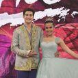 Nicolas Prattes e Mayara Araújo ficaram em terceiro no 'Dança dos Famosos'