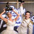 Maria Joana venceu o 'Dança dos Famosos 2017' ao lado do professor Reginaldo Sama