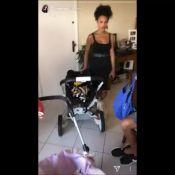 Aline Dias encontra filhos de Juliana Alves e Sheron Menezzes: 'Mamães'. Vídeo!